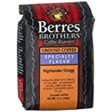Berres Brothers Coffee Roasters Highlander Grogg Coffee Ground 12 Ounce Bags  Pack of 3