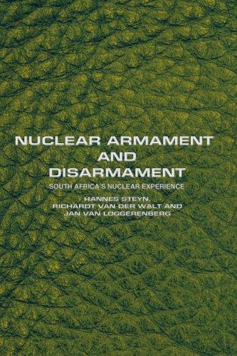 Nuclear Armament and Disarmament:south a