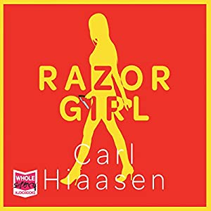 Razor Girl Audiobook