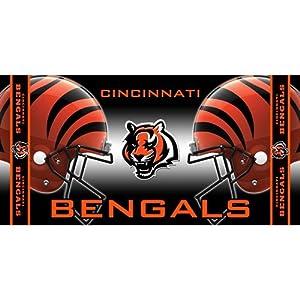 Buy McArthur Cincinnati Bengals NFL Beach Towel (30x60) CSY-9960602598 by McArthur