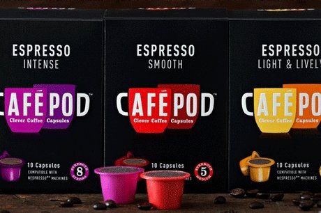 30 CAFEPOD NESPRESSO COMPATIBLE COFFEE CAPSULES MIX SELECTION