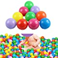 HeroNeo® 200pcs Colorful Ball Fun Ball Soft Plastic Ocean Ball Baby Kid Toy Swim Pit Toy