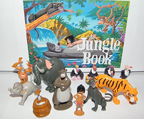 Disney-The-Jungle-Book-Set-of-14-Deluxe-Figure