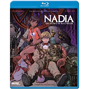 Nadia Secret of Blue Water: Complete [Blu-ray] [Import] (1990)