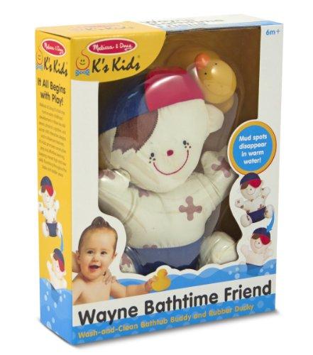 Melissa & Doug K's Kids Wayne Bathtime Friend - 1