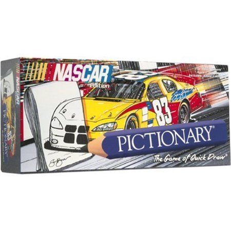 Buy Low Price USAOPOLY NASCAR Edtion Pictionary Board Game Figure (B001HXR0D4)