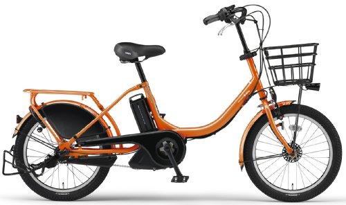 YAMAHA(ヤマハ) PAS Babby 20インチ 電動自転車 2014年モデル [8.7Ahバッテリー、内装3段変速、オートライト機能、急速充電器付き] トロピカルオレンジ PM20B