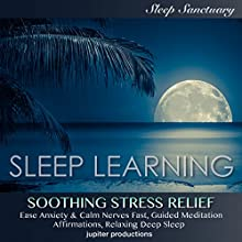 Soothing Stress Relief, Ease Anxiety & Calm Nerves Fast: Sleep Learning, Guided Meditation, Affirmations, Relaxing Deep Sleep Discours Auteur(s) :  Jupiter Productions, Kev Thompson Narrateur(s) : Kev Thompson