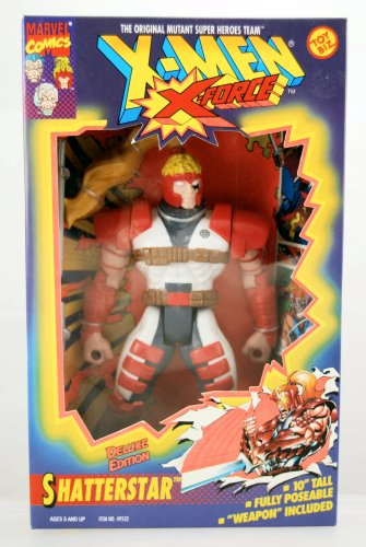 Buy Low Price Toy Biz Shatterstar 10 Inch Poseable Action Figure – X-Men / X-Force Deluxe Edition – Weapon Included – Marvel – Toy Biz – Limited Edition – Mint – Collectible – RARE (B0023UNIZO)