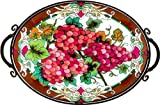 Joan Baker Designs TA701B 21-1/2W by 14-3/4D by 26-1/2H Red Grapes Art... is coming