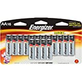 1 X BATTERY, ENERGIZER MAX, AA 16 PK.-E91BP16F4ENE