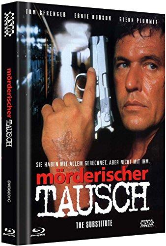 Mörderischer Tausch - The Substitute - Uncut [Blu-Ray+DVD] auf 333 limitiertes Mediabook Cover C