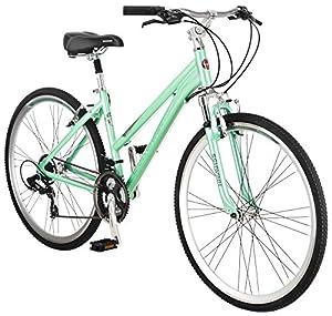 Schwinn Women's Siro 700c Hybrid Bicycle, Light Green, 16-Inch Frame
