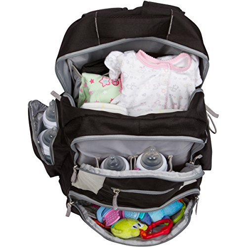new diaper backpack by hashtag baby diaper bag for moms and dads ebay. Black Bedroom Furniture Sets. Home Design Ideas