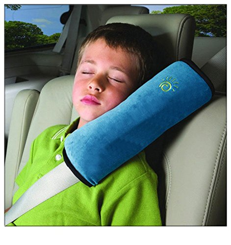 TTBOO Children Baby Car Soft Seat Belt Shoulder Pad Pillow,Blue
