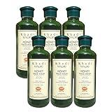 Khadi Mauri Honey Face Wash Pack of 6 Herbal Natural Ayurvedic 210 ml each