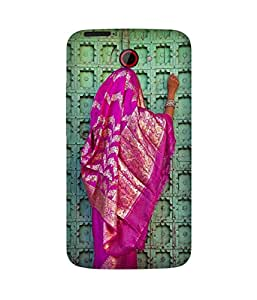 Pink Saree HTC One X Case