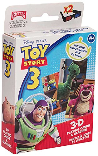 Disney Toy Story 3D Oversized Playing Cards