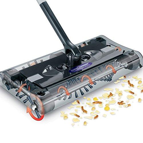 Vdomus® Swivel Sweeper Rechargable Floor & Carpet Sweeper