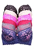 Youmita Color Lace B, C, D and Dd Cups Bras - NEW - 38D