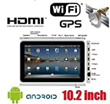 """10"""" Touchscreen Android 2.2 Tablet PC (ePad) support WiFi / USB 3G Modem /  ...."""