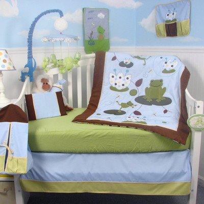 Soho Emily The Frog Crib Nursery Bedding Set 14 Pcs front-664884