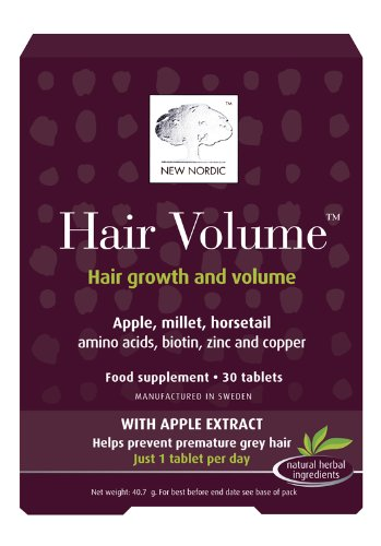 New Nordic Hair Volume - Pack of 30 Tablets