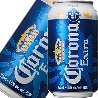 コロナ・エキストラ(Corona Extra) 缶 プレミアムビール 355ml×24本 ケース販売
