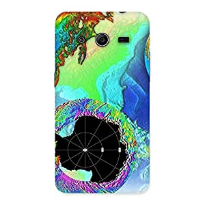 Impressive World of Colors Back Case Cover for Galaxy Core 2