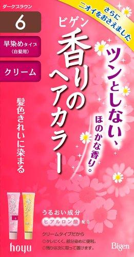ビゲン 香りのヘアカラークリーム 6 (ダークブラウン) 【HTRC5.1】
