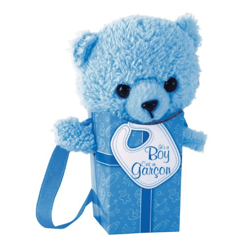 "Gund Pookie Pockets It's A Boy 4.25"" Plush"