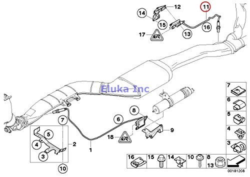 For BMW M5 M6 06-10 Fuel Injector x1 OEM Bosch