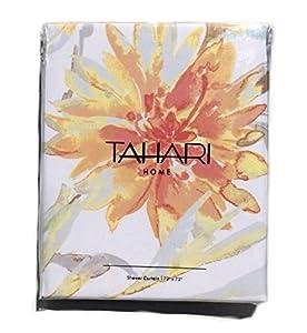 Amazon Com Tahari Shower Curtain Fabric Martina 72 X 72