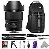 Sigma 20mm f 1.4 DG HSM Art Lens for CANON EF DSLR Cameras w Essential Photo and Travel Bundle - Including: Camera Sling Backpack - Pro 67