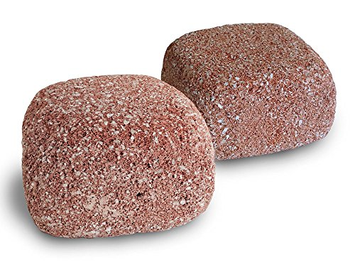 EcoBio-Block 2-Pack Stone for Aquariums, Medium - Biological Water Clarifier and Odor Remover, Maintains Healthy Clear Water, Treats 20 to 120 Gallons (Nitrogen Cycle For Fish Tank compare prices)