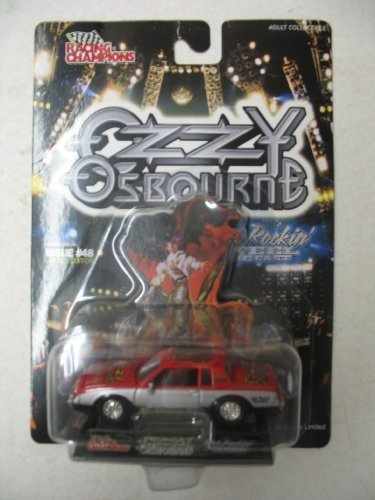 Ozzy Osbourne Hot Rockin' Steel Die Cast Issue #48 - 1
