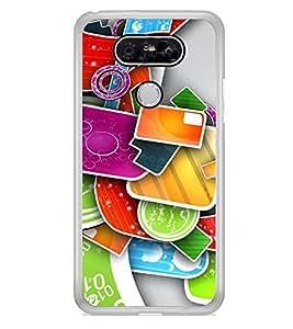 Multi Colour Pattern 2D Hard Polycarbonate Designer Back Case Cover for LG G5 :: LG G5 Dual H860N :: LG G5 Speed H858 H850 VS987 H820 LS992 H830 US992