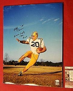 Autographed Cannon Photo - 16x20 Heisman 1959 Hof - JSA Certified - Autographed... by Sports+Memorabilia