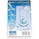 Beadsmith Beadsmith Beaders Mini Travel Kit - Pliers, Bead Board & Storage