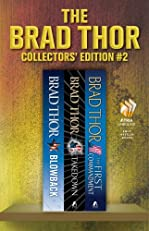 Brad Thor Collectors' Edition #2: Blowback, Takedown, The First Commandment (Scot Harvath)
