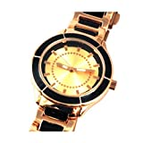 Bronze and Black Bracelet Strap Ladies Watch 3295523
