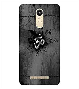 PrintDhaba Om D-5593 Back Case Cover for XIAOMI REDMI NOTE 3 (Multi-Coloured)