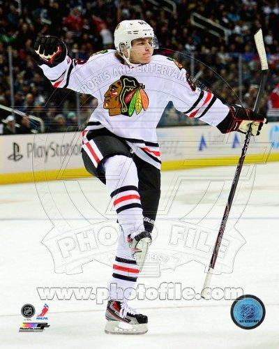Patrick Kane Chicago Blackhawks 2013 NHL Action Photo 8x10 #3