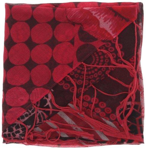 c6d5ed7132d8 Desigual - écharpe - femme - rouge (3099) - taille unique