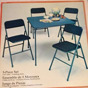 Cosco 5 Piece Folding Table and Chairs