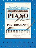 img - for David Carr Glover Method for Piano Performance book / textbook / text book