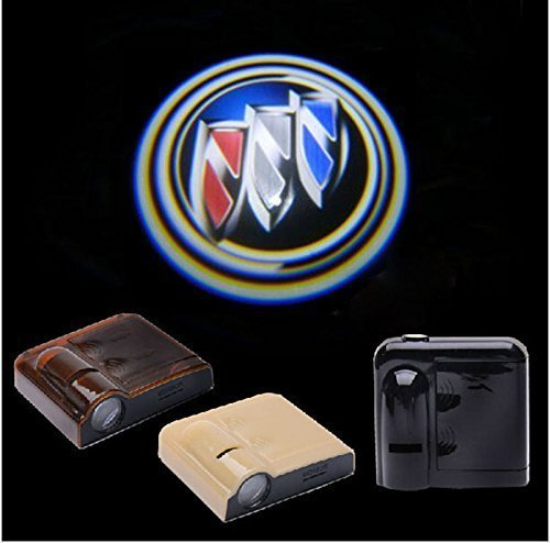 Outstorer 2PCS 5W Universal Wireless No Drill Magnetic Car LED Door Welcome Projector Logo Ghost Shadow Laser Lights for Buick (Buick Emblem Light compare prices)