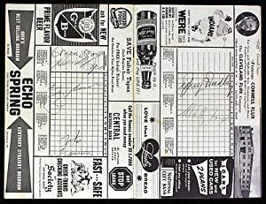 Mickey Mantle Yogi Berra Whitey Ford Signed 1959 Yankees Program Autographed - JSA... by Sports Memorabilia