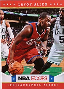 2012-13 Panini Hoops #253 Lavoy Allen RC (Rookie Card) Trading Card in a Protective... by Hoops