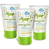Babyganics Eczema Care Skin Protectant Cream, 3oz Tube (Pack of 3)